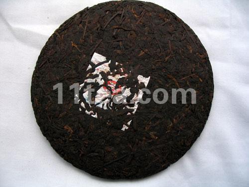 [茶王]06年6816普洱茶357克熟饼