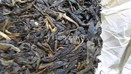 存了9年的澜沧邦威古茶